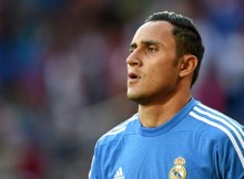File photo dated 12-08-2014 of Keylor Navas PRESS ASSOCIATION Photo. Issue date: Monday August 31, 2015. Manchester United have agreed to sell goalkeeper David De Gea to Real Madrid for a fee in the region of £29million plus Keylor Navas, Press Association Sport understands. See PA story SOCCER Man Utd. Photo credit should read Joe Giddens/PA Wire.