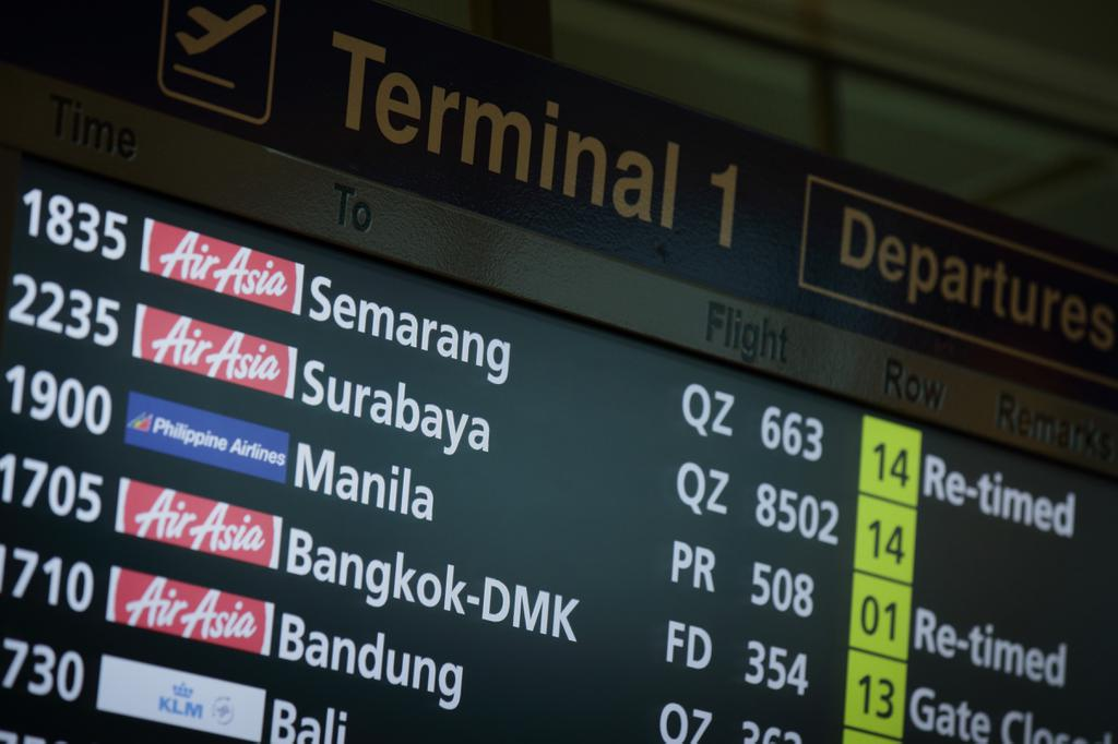 AirAsia Flight From Indonesia to Singapore Missing